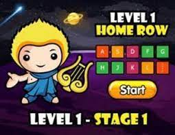 Play Dance Mat Typing Level 1 – Stage 1 Game