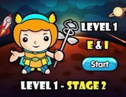 Play Dance Mat Typing Level 1 – Stage 2 Game