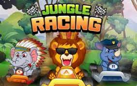 Play Typing Games Jungle Racing Game