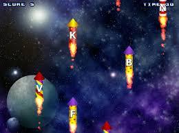Play Typing Rocket Game