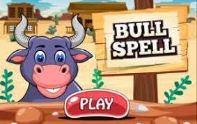 Play Bull Spell Typing Game