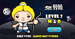 Play Dance Mat Typing Level 2 – Stage 5 Game