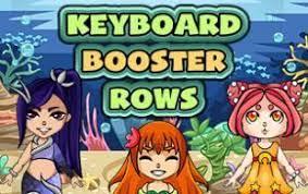Play Mermaid Keyboard Rows Typing Game