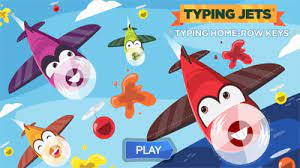 Play Typing Jets Home Row Game