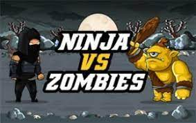 Play Ninja vs Zombies Typing Game