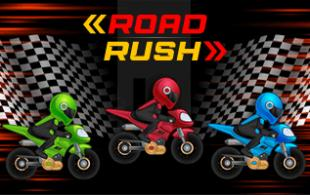 Play Road Rush Typing Game